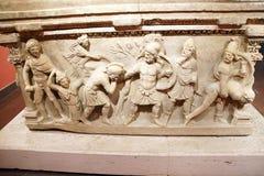 Ρωμαϊκή Σαρκοφάγος στοκ εικόνα με δικαίωμα ελεύθερης χρήσης