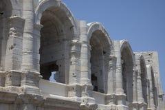 Ρωμαϊκοί χώροι σε Arles Γαλλία Στοκ φωτογραφία με δικαίωμα ελεύθερης χρήσης