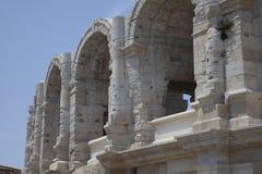 Ρωμαϊκοί χώροι σε Arles Γαλλία Στοκ Εικόνα
