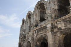 Ρωμαϊκοί χώροι σε Arles Γαλλία Στοκ εικόνα με δικαίωμα ελεύθερης χρήσης