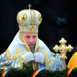 Ρωμαϊκός Αρχιεπίσκοπος στοκ εικόνα με δικαίωμα ελεύθερης χρήσης