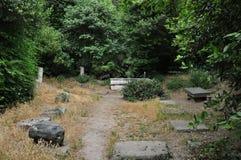 Ρωμαϊκός κήπος καταστροφών Στοκ φωτογραφία με δικαίωμα ελεύθερης χρήσης