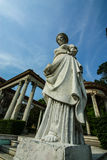 Ρωμαϊκός κήπος στο παλάτι Phayathai Στοκ εικόνα με δικαίωμα ελεύθερης χρήσης