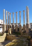 Ρωμαϊκός ναός της Κόρδοβα Ισπανία Στοκ Φωτογραφία