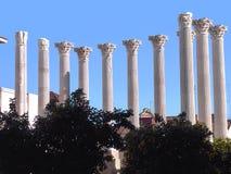 Ρωμαϊκός ναός της Κόρδοβα _ Ισπανία Στοκ φωτογραφία με δικαίωμα ελεύθερης χρήσης