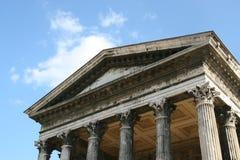 ρωμαϊκός ναός Στοκ εικόνες με δικαίωμα ελεύθερης χρήσης
