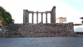 ρωμαϊκός ναός απόθεμα βίντεο