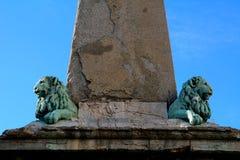 Ρωμαϊκός οβελίσκος, Arles, Γαλλία Στοκ Φωτογραφίες