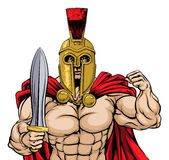 ρωμαϊκός πολεμιστής Στοκ εικόνες με δικαίωμα ελεύθερης χρήσης