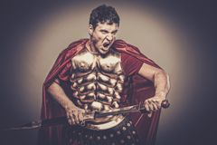 ρωμαϊκός στρατιώτης λεγε& Στοκ Φωτογραφία
