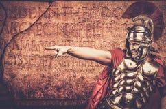 ρωμαϊκός στρατιώτης λεγε& Στοκ φωτογραφίες με δικαίωμα ελεύθερης χρήσης