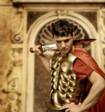 ρωμαϊκός στρατιώτης λεγε& Στοκ εικόνα με δικαίωμα ελεύθερης χρήσης