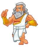 Ρωμαϊκός χαρακτήρας κινουμένων σχεδίων Στοκ φωτογραφία με δικαίωμα ελεύθερης χρήσης