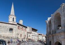 Ρωμαϊκός χώρος Προβηγκία Γαλλία Arles Στοκ εικόνες με δικαίωμα ελεύθερης χρήσης
