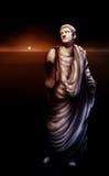 ρωμαϊκό άγαλμα αυτοκρατόρ&o Στοκ Εικόνα