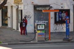 Ρωμαϊκό αέριο Στοκ εικόνα με δικαίωμα ελεύθερης χρήσης