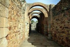Ρωμαϊκό αμφιθέατρο Μέριντα Στοκ Φωτογραφίες