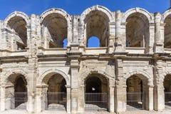Ρωμαϊκό αμφιθέατρο σε Arles, Γαλλία Στοκ Εικόνα