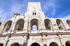 Ρωμαϊκό αμφιθέατρο σε Arles, Γαλλία Στοκ εικόνα με δικαίωμα ελεύθερης χρήσης