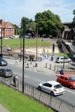 Ρωμαϊκό αμφιθέατρο του Τσέστερ Στοκ φωτογραφία με δικαίωμα ελεύθερης χρήσης