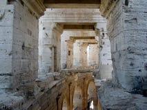 Ρωμαϊκό αμφιθέατρο χώρων σε Arles, Προβηγκία, Γαλλία Στοκ Εικόνα