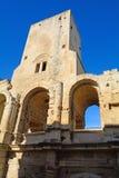Ρωμαϊκό αμφιθέατρο, Arles, Γαλλία Στοκ εικόνα με δικαίωμα ελεύθερης χρήσης