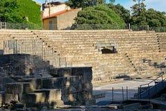 Ρωμαϊκό αμφιθέατρο, Arles, Γαλλία Στοκ Εικόνα