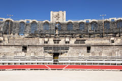 Ρωμαϊκό αμφιθέατρο, Arles, Γαλλία Στοκ Εικόνες