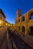 Ρωμαϊκό αμφιθέατρο - Arles - νότος της Γαλλίας Στοκ Εικόνα
