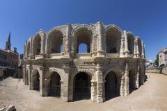 Ρωμαϊκό αμφιθέατρο - Arles - νότος της Γαλλίας Στοκ Εικόνες