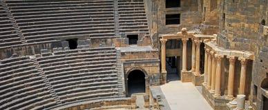 Ρωμαϊκό αμφιθέατρο Bosra - Συρία Στοκ Φωτογραφίες