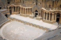 Ρωμαϊκό αμφιθέατρο Bosra - Συρία Στοκ Εικόνα