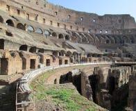 Ρωμαϊκό αμφιθέατρο Colosseum Ιταλία Ευρώπη από τον καιρό της ρωμαϊκής άποψης Empiren από μέσα από την Ευρώπη Στοκ φωτογραφία με δικαίωμα ελεύθερης χρήσης