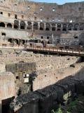 Ρωμαϊκό αμφιθέατρο Colosseum Ιταλία Ευρώπη από τον καιρό του ρωμαϊκού Empiren Στοκ εικόνα με δικαίωμα ελεύθερης χρήσης