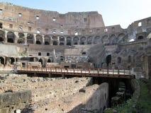 Ρωμαϊκό αμφιθέατρο Colosseum Ιταλία Ευρώπη από τον καιρό του ρωμαϊκού Empiren Στοκ Εικόνες