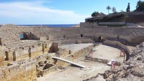 Ρωμαϊκό αμφιθέατρο Tarragona, Κόστα Ντοράδα, Καταλωνία, Ισπανία φιλμ μικρού μήκους