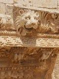 Ρωμαϊκό αρχαίο λιοντάρι αυτοκρατοριών lionshead Στοκ Φωτογραφίες