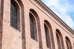Ρωμαϊκό αυτοκρατορικό δωμάτιο θρόνων, Konstantin-Basilika, Τρίερ, Γερμανία Στοκ Εικόνες