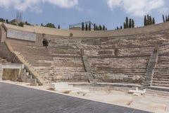 Ρωμαϊκό θέατρο Καρχηδόνα νότια Ισπανία Στοκ εικόνες με δικαίωμα ελεύθερης χρήσης