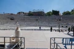 Ρωμαϊκό θέατρο Προβηγκία Γαλλία Arles Στοκ φωτογραφία με δικαίωμα ελεύθερης χρήσης