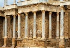 Ρωμαϊκό θέατρο στο Μέριντα Ισπανία Στοκ φωτογραφία με δικαίωμα ελεύθερης χρήσης