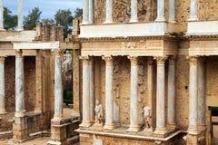 Ρωμαϊκό θέατρο στο Μέριντα Ισπανία Στοκ Εικόνες