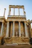 Ρωμαϊκό θέατρο στο Μέριντα Στοκ Φωτογραφία