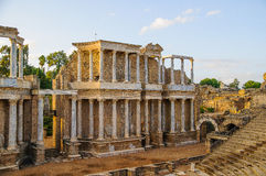 Ρωμαϊκό θέατρο στο Μέριντα Στοκ εικόνες με δικαίωμα ελεύθερης χρήσης