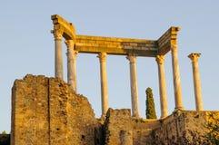 Ρωμαϊκό θέατρο στο Μέριντα Στοκ Εικόνες