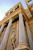 ρωμαϊκό θέατρο του Μέριντα Στοκ Εικόνες