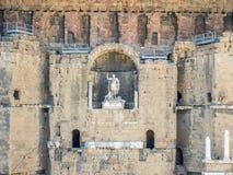 Ρωμαϊκό θέατρο του πορτοκαλιού, Γαλλία Στοκ φωτογραφία με δικαίωμα ελεύθερης χρήσης