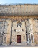 Ρωμαϊκό θέατρο του πορτοκαλιού, Γαλλία Στοκ Εικόνα
