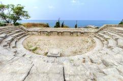 Ρωμαϊκό θέατρο, Byblos, Λίβανος στοκ φωτογραφίες