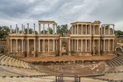 Ρωμαϊκό θέατρο Mérida 2 Στοκ φωτογραφία με δικαίωμα ελεύθερης χρήσης